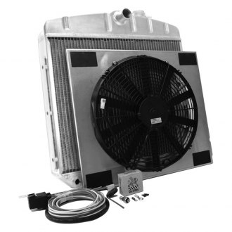 "Griffin Thermal® - 17"" x 22"" x 2.68"" Performance Direct Fit Combo Unit Radiator with Transmission Cooler"