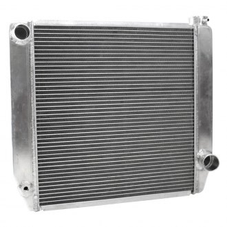 "Griffin Thermal® - 23"" x 18.47"" x 2.68"" High Performance Direct Fit Radiator with Transmission Cooler"