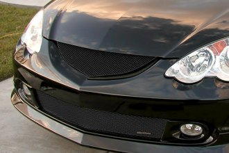 GrillCraft® - MX Series Black Fine Mesh Grille (W/O Cutting)