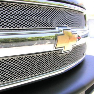 GrillCraft® - 2-Pc MX Series Silver Fine Mesh Main Grille