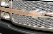 GrillCraft® - 2-Pc MX Series Silver Fine Mesh Grille