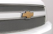 GrillCraft® - 1-Pc MX Series Silver Fine Mesh Grille