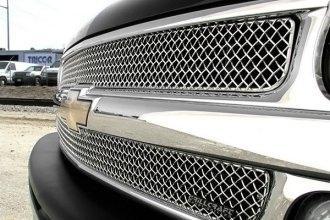 GrillCraft® - 2-Pc SW Series Polished Heavy Mesh Main Grille Insert