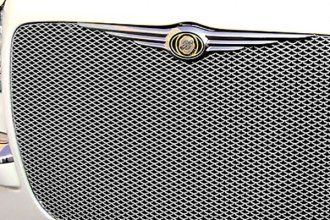 GrillCraft® - 1-Pc MX Series Silver Fine Mesh Main Grille Insert
