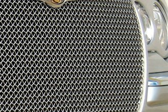 GrillCraft® - 1-Pc SW Series Polished Heavy Mesh Main Grille Insert