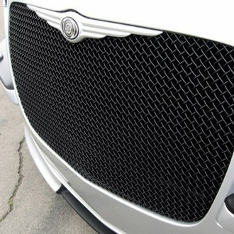 GrillCraft® - 1-Pc SW Series Black Heavy Mesh Grille