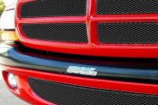 GrillCraft® - 5-Pc MX Series Black Fine Mesh Main and Bumper Grille Insert