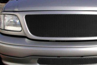 GrillCraft® - 2-Pc MX Series Black Fine Mesh Main and Bumper Grille Insert