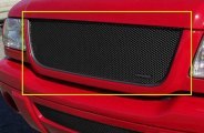 GrillCraft® FOR1007B - MX Series Black Fine Mesh Grille