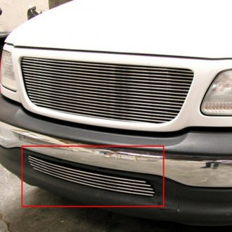 GrillCraft® - 1-Pc BG Series Polished Billet Bumper Grille