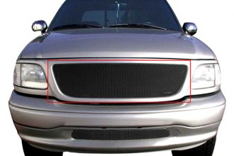 GrillCraft® FOR1302B - 1-Pc MX Series Black Fine Mesh Main Grille