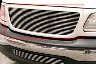 GrillCraft® FOR1302-BAC - 1-Pc BG Series Polished Billet Main Grille