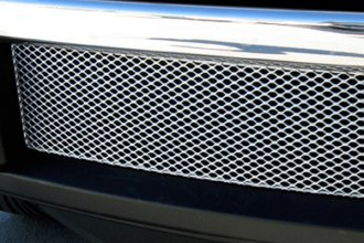 GrillCraft® FOR1312S - 1-Pc MX Series Silver Fine Mesh Bumper Grille Insert