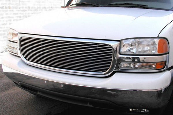 GrillCraft® - BG Series Polished Billet Grille Replacement (With Cutting)