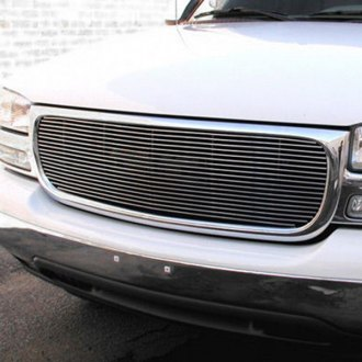 Image may not reflect your exact vehicle! GrillCraft® - BG Series Polished Billet Grille
