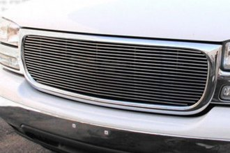 GrillCraft® GMC2012-BAC - 1-Pc BG Series Polished Billet Main Grille