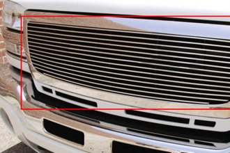 GrillCraft® GMC2018-BAO - 1-Pc BG Series Polished Billet Main Grille