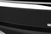 Image may not reflect your exact vehicle! GrillCraft® - 1-Pc MX Series Black Fine Mesh Bumper Grille Insert