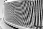 Image may not reflect your exact vehicle! GrillCraft® - 1-Pc MX Series Silver Fine Mesh Main Grille