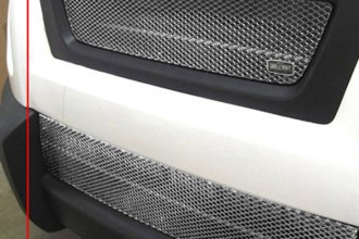 GrillCraft® H1200-01S - 2-Pc MX Series Silver Fine Mesh Main and Bumper Grille Insert