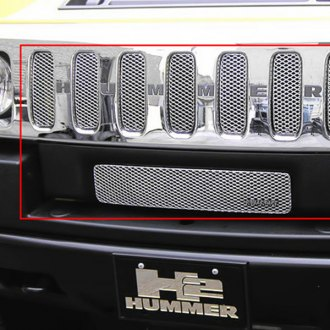 GrillCraft® - 8-Pc MX Series Silver Fine Mesh Grille Kit