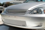 GrillCraft® - MX Series Silver Fine Mesh Grille Replacement (W/O Cutting)