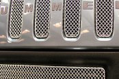GrillCraft® - 7-Pcs SW Series Polished Heavy Mesh Main Grille