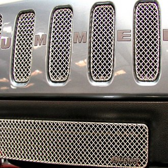 GrillCraft® - SW Series Polished Stainless Steel Heavy Mesh Grille (W/O Cutting)