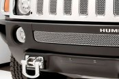 GrillCraft® - 7-Pcs SW Series Polished Heavy Mesh Main Grille Insert