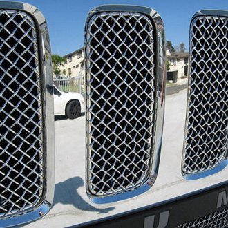 GrillCraft® - 7-Pc SW Series Polished Heavy Mesh Main Grille