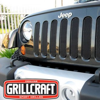 GrillCraft® - 7-Pc MX Series Black Fine Mesh Main Grille