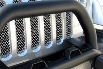GrillCraft® - 7-Pc SW Series Polished Heavy Mesh Main Grille Insert