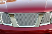 GrillCraft® - 3-Pcs MX Series Silver Fine Mesh Main Grille