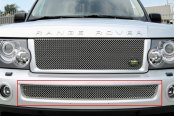 GrillCraft® - SW Series Polished SS Heavy Mesh Bumper Grille