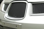 GrillCraft® - 4-Pc MX Series Black Fine Mesh Main and Bumper Grille