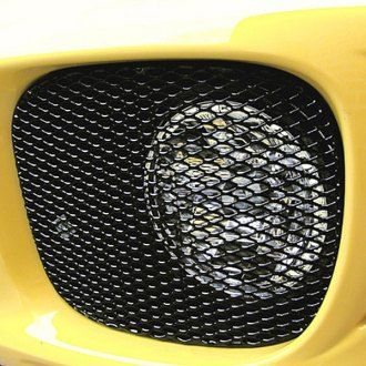 GrillCraft® - MX Series Black Fog Lamp Fine Mesh Grille (W/O Cutting)