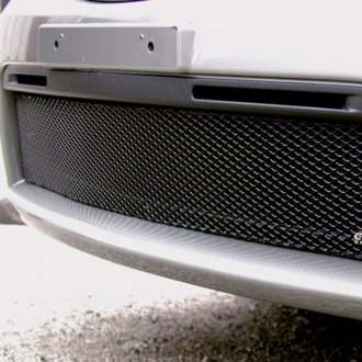 GrillCraft® - 1-Pc MX Series Black Fine Mesh Bumper Grille Insert