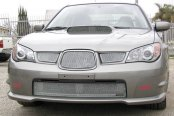 GrillCraft® - 1-Pc MX Series Silver Fine Mesh Hood Scoop Grille
