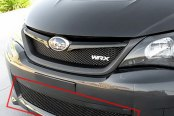 Image may not reflect your exact vehicle! GrillCraft® - MX Series Black Fine Mesh Bumper Grille