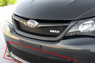 GrillCraft® SUB1736B - 1-Pc MX Series Black Fine Mesh Bumper Grille