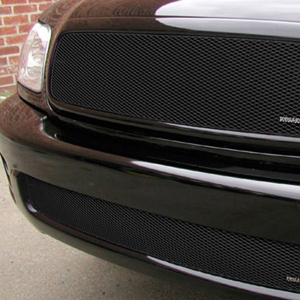 GrillCraft® - 2-Pc MX Series Black Fine Mesh Grille Kit