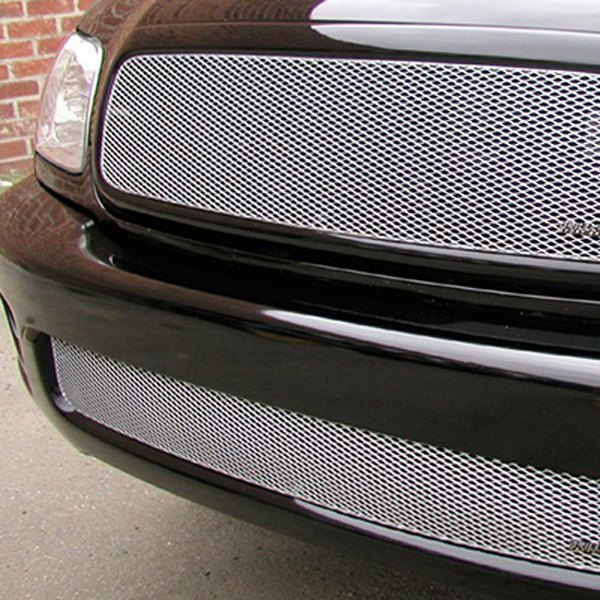 GrillCraft® - 2-Pc MX Series Silver Fine Mesh Grille Kit