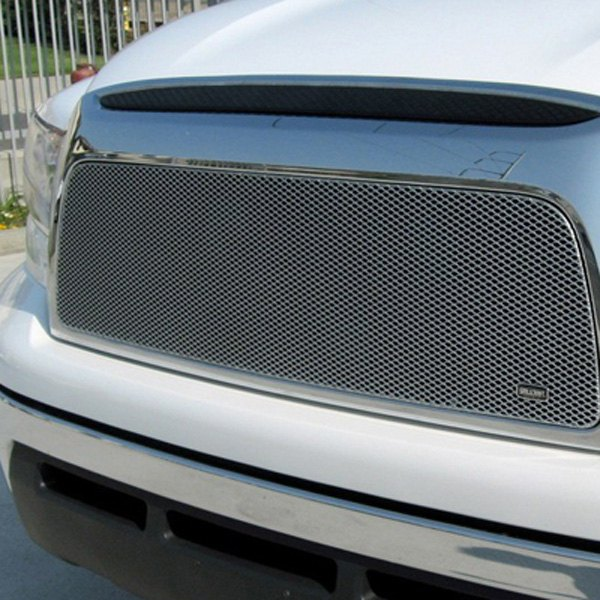 GrillCraft® - MX Series Silver Fine Mesh Grille Insert Replacement (With Cutting)