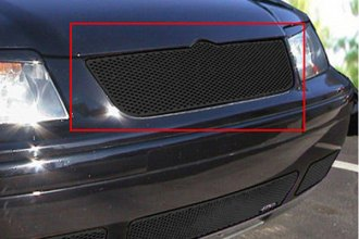 GrillCraft® VWJ1102B - 1-Pc MX Series Black Fine Mesh Main Grille