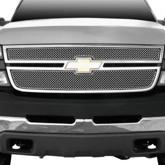 GrillCraft® - 2-Pc SW Series Polished Heavy Mesh Main Grille