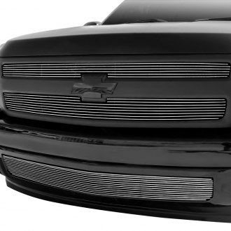 GrillCraft® - 2-Pc BG Series Polished Billet Grille