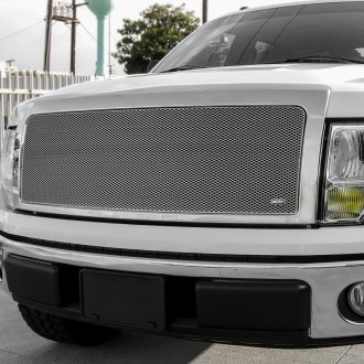 GrillCraft® - 2-Pc MX Series Silver Powder Coated Fine Mesh Grille