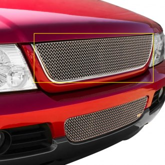 Grillcraft® - 1-Pc SW Series Polished Heavy Mesh Main Grille