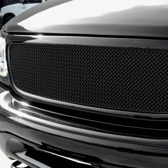 GrillCraft® - 1-Pc SW Series Black Heavy Mesh Main Grille