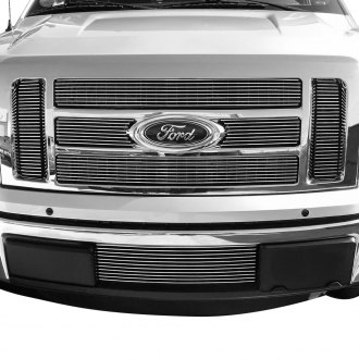GrillCraft® - 6-Pc BG Series Polished Billet Grille